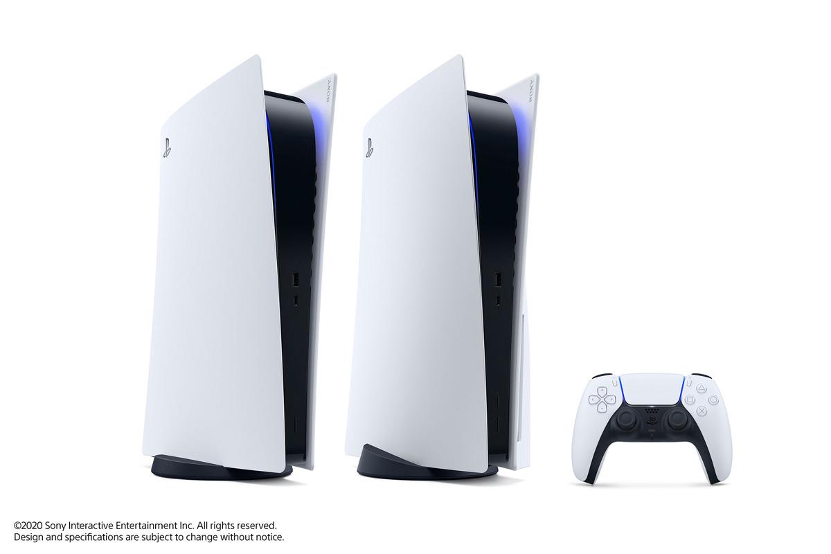 Das Design der PlayStation 5 steht fest. Quelle: Sony