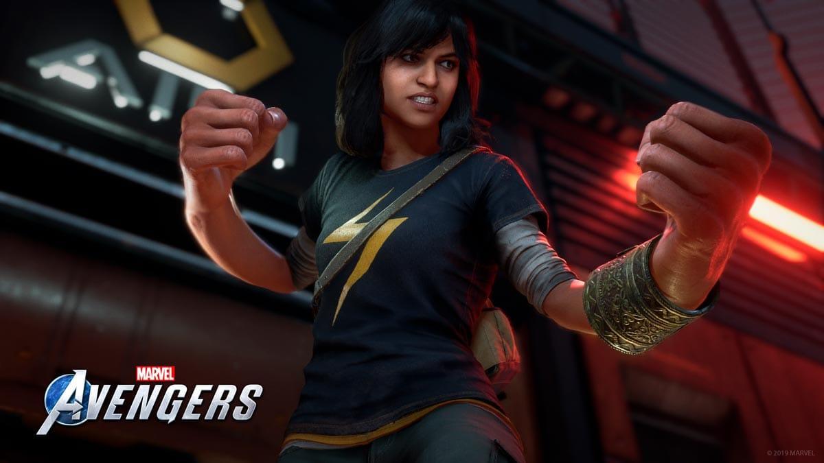 Ms. Marvel kämpft an der Seite der Avengers.