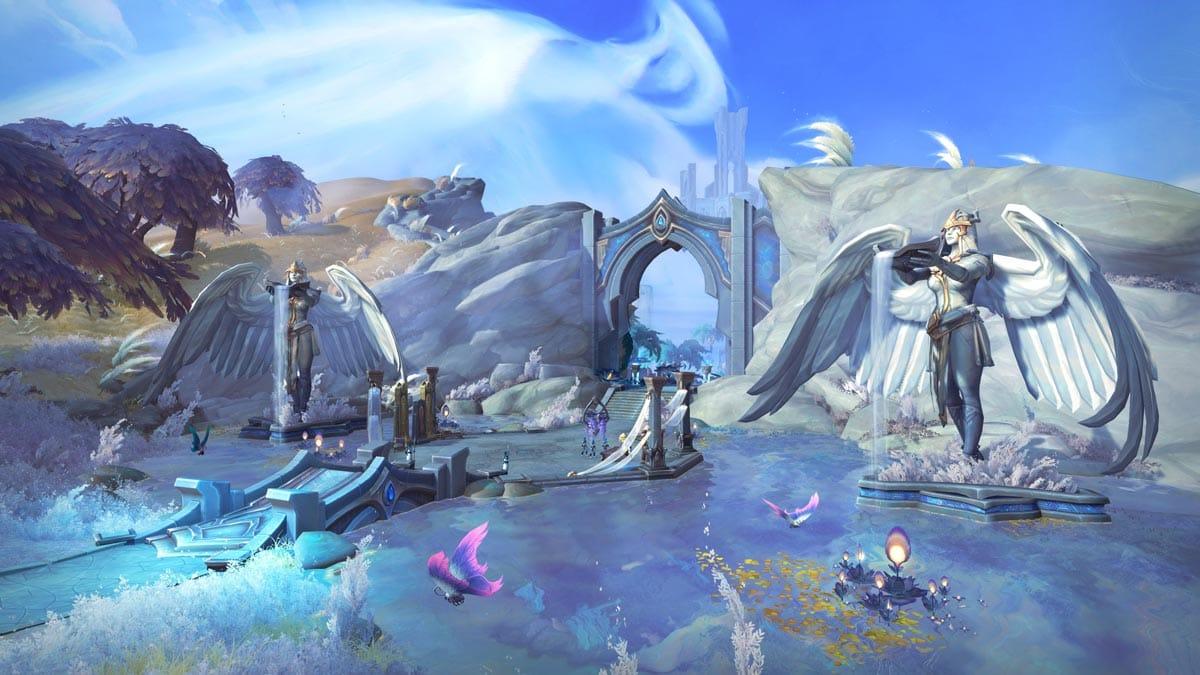 Bastion gehört zu den neuen Gebieten in World of Warcraft: Shadowlands.