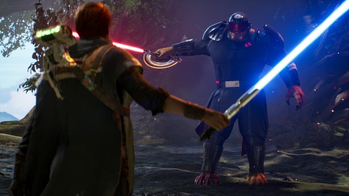 Der Kampf mit dem Lichtschwert ist fett, aber etwas ungenau.