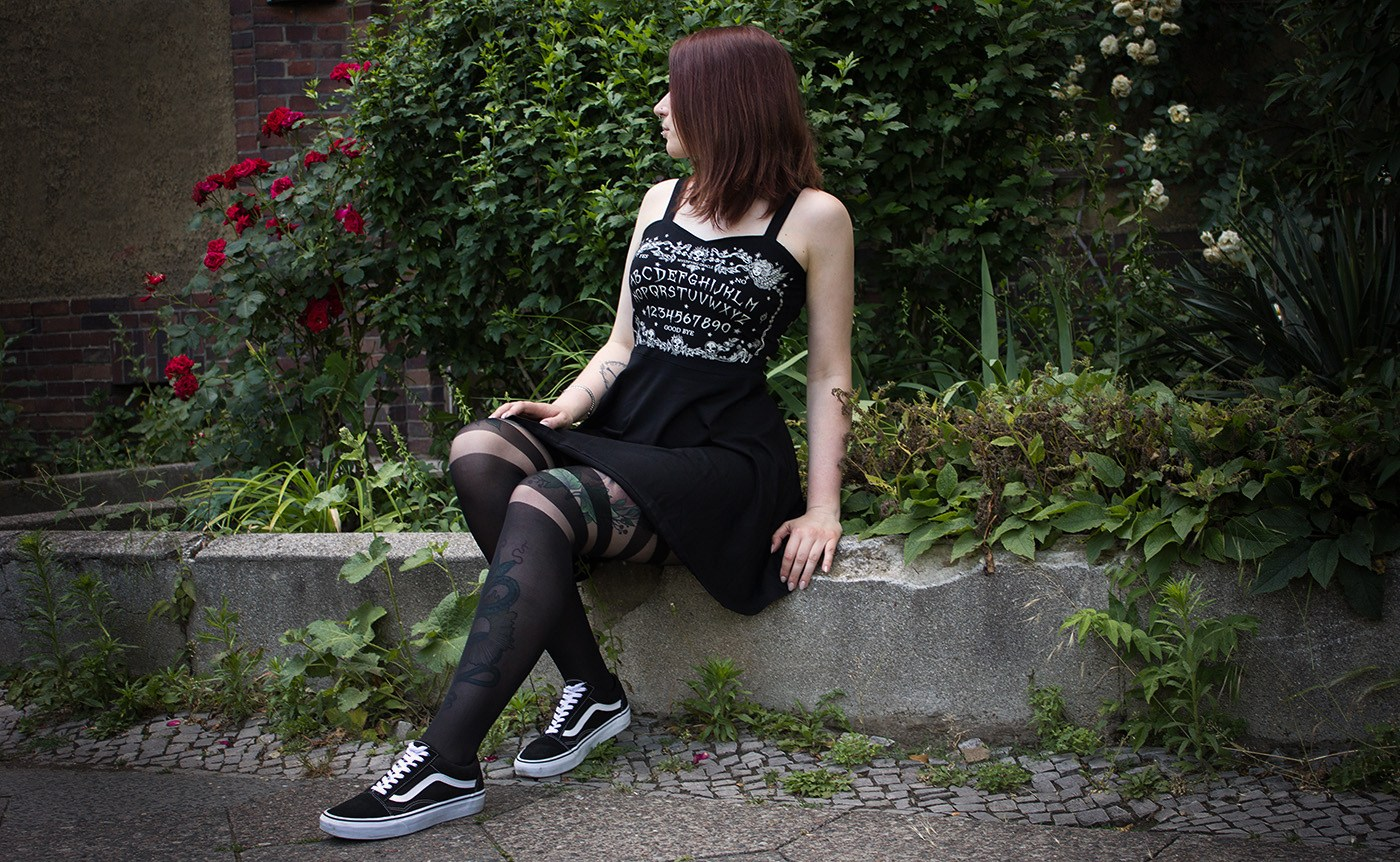 Ouija Kleid von Jawbreaker