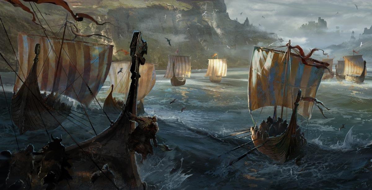 Die Meere erkunden in einem Drachenboot? Eventuell bald möglich. Bild: For Honor.