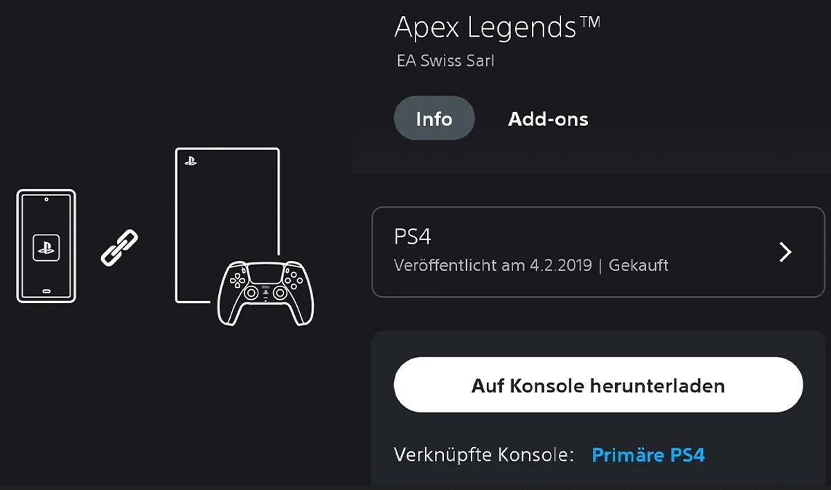 Praktisches Update für die PlayStation App! Screenshot: Sony/Ulrich Wimmeroth.
