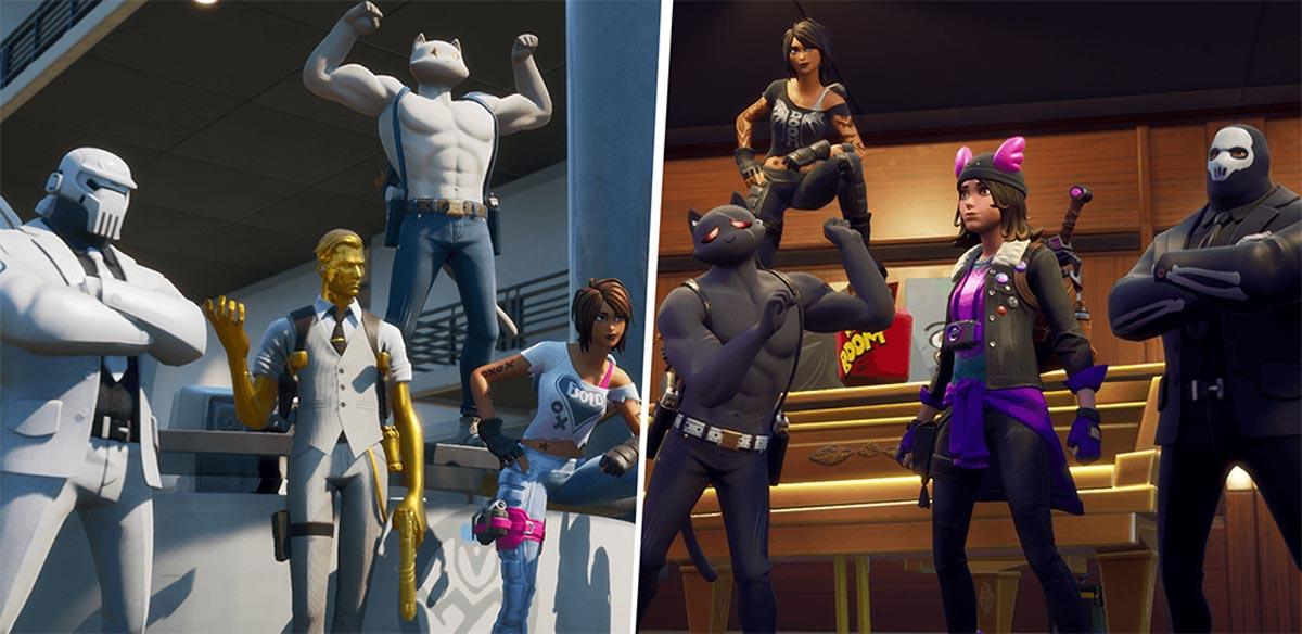 Ghost und Shadow sind die neuen Fraktionen in Fortnite Season 2.