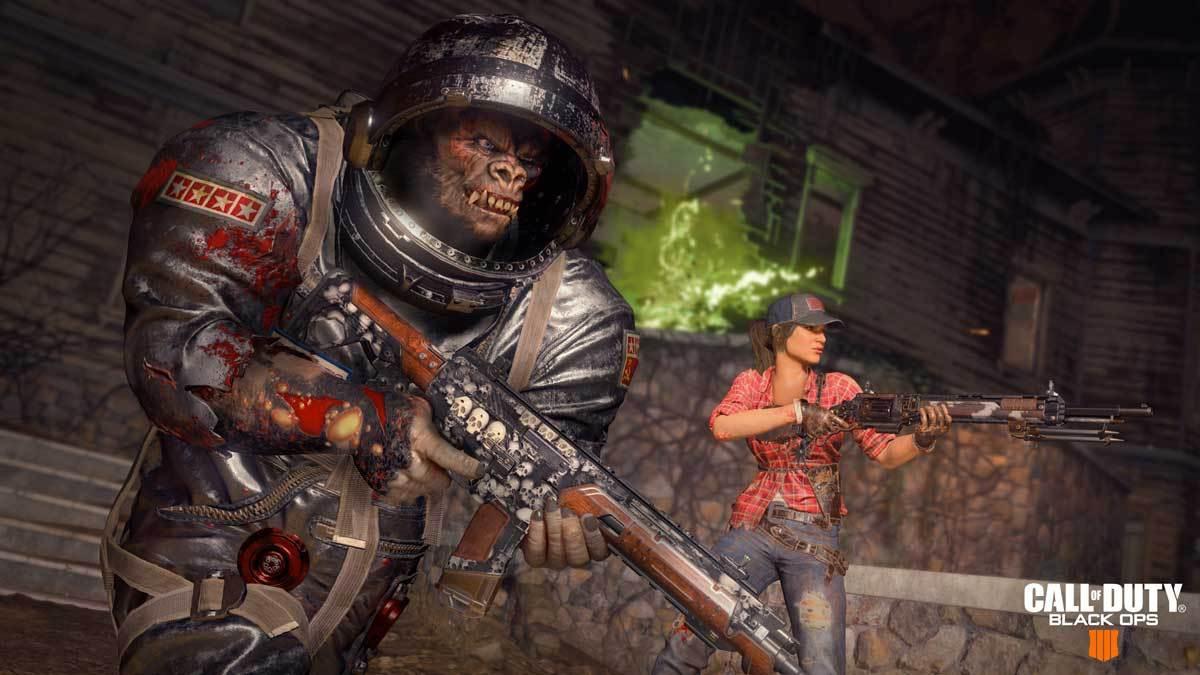 Natürlich dürfen Zombies bei Call of Duty nicht mehr fehlen.