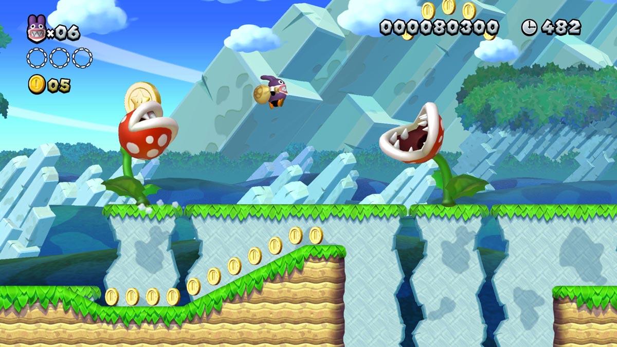 Ein klassisches Jump-'n'-Run - gutes Spiel!