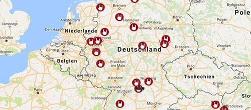 Bildergebnis für fotos von lageplan aller emp shops in europa