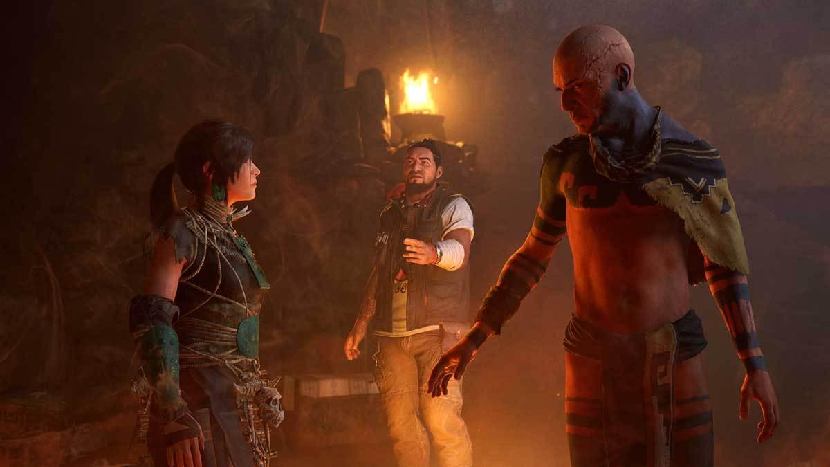 Im neuen Tomb Raider-DLC trifft Lara Croft wieder auf allerlei finstere Gestalten.
