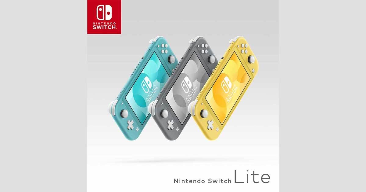 Die Nintendo Switch Lite kommt in drei Farben daher - ab dem 20. September.