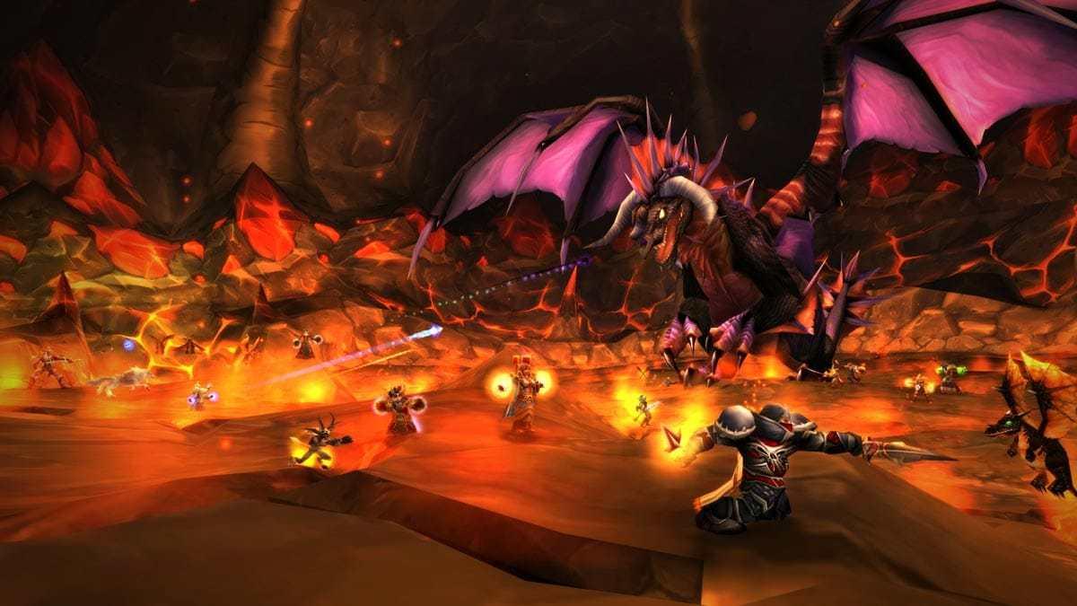 Drachenlady Onyxia verbreitete Furcht und Schrecken.