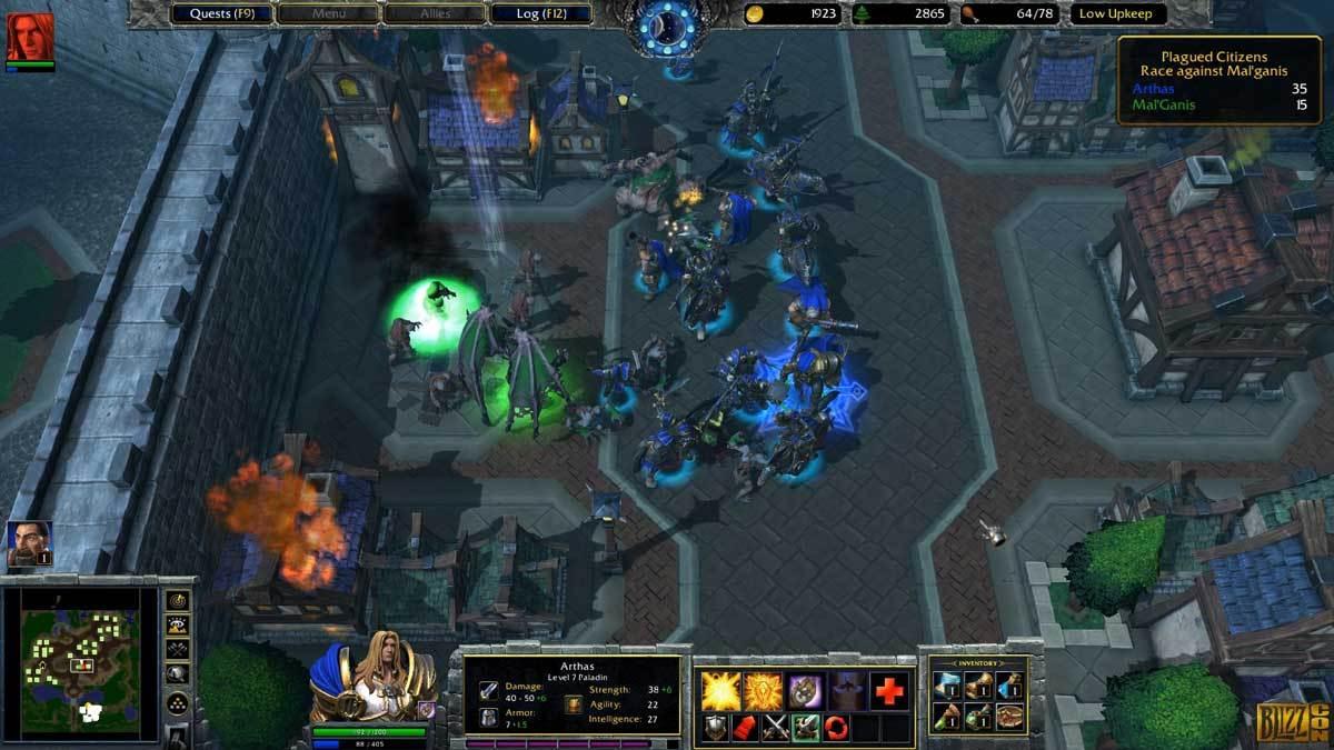 Warcraft III gehört auf den PC - und das ist gut so.