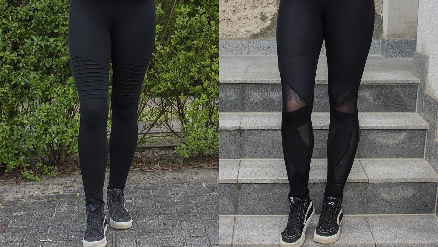Ladies Triangel Tech Mesh Leggings und Ladies Tech Biker Leggings