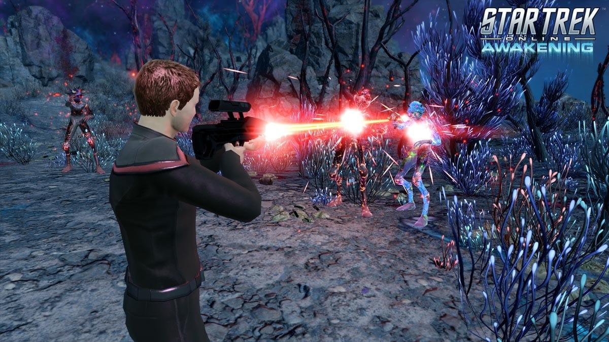 Star Trek Online: Awakening ist bereits verfügbar für PC, Konsolen-Release folgt am 15. Oktober.