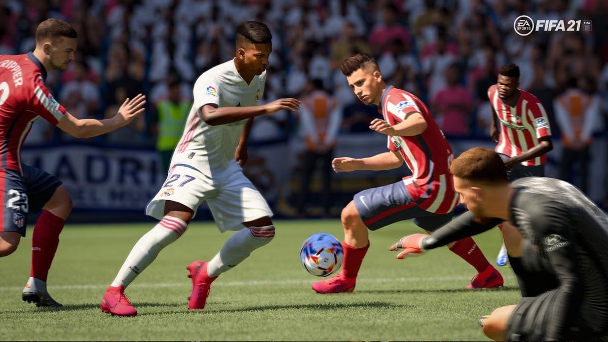 FIFA 21 ist eine durchaus gelungene Sportsimulation.