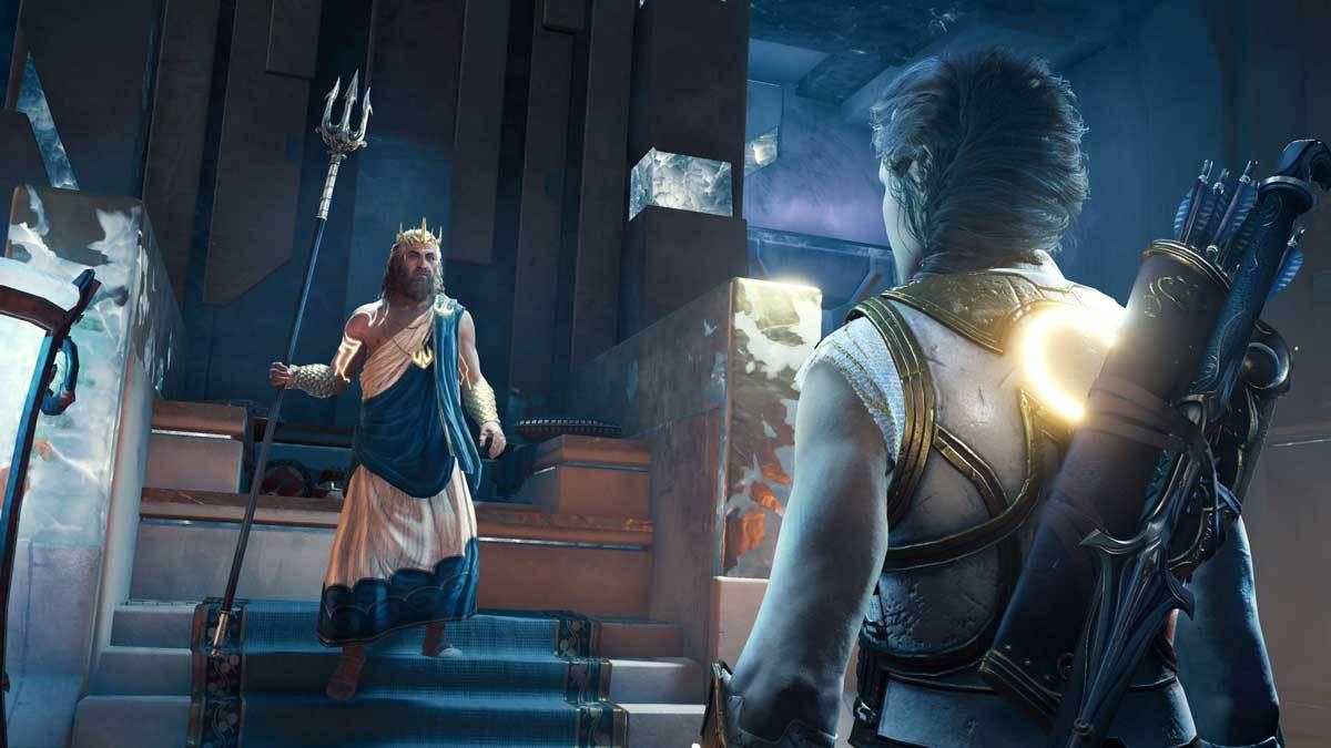 Poseidon macht uns zum Richter über Atlantis. Noch mehr Verantwortung!