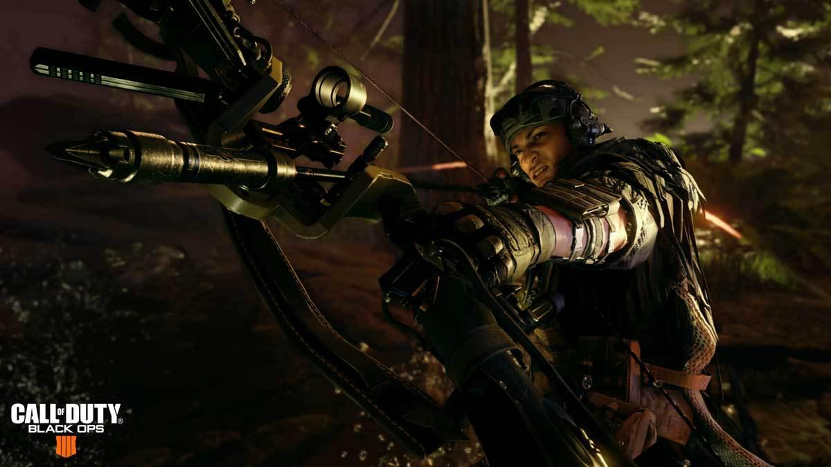 Outrider ist die neue Spezialistin im Call of Duty: Black Ops 4-Update.