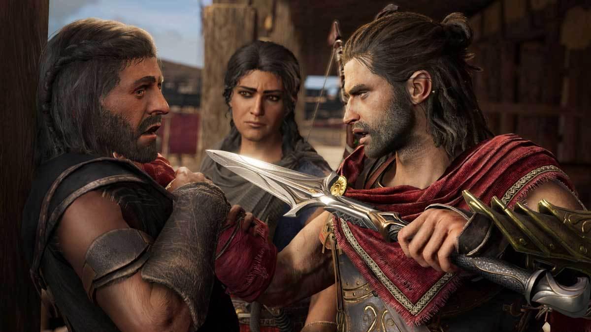 Alexios und Kassandra erleben neue Abenteuer in Assassin's Creed Odyssey: Schattenerbe.
