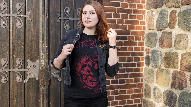 House Targaryen T-Shirt von Game Of Thrones