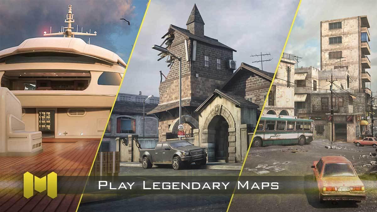 Legendäre Karten, bekannt aus dem Call of Duty-Franchise warten.